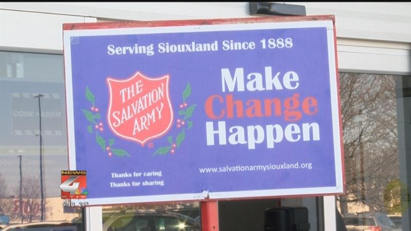 Local Salvation Army Only Reaches 35% of Goal