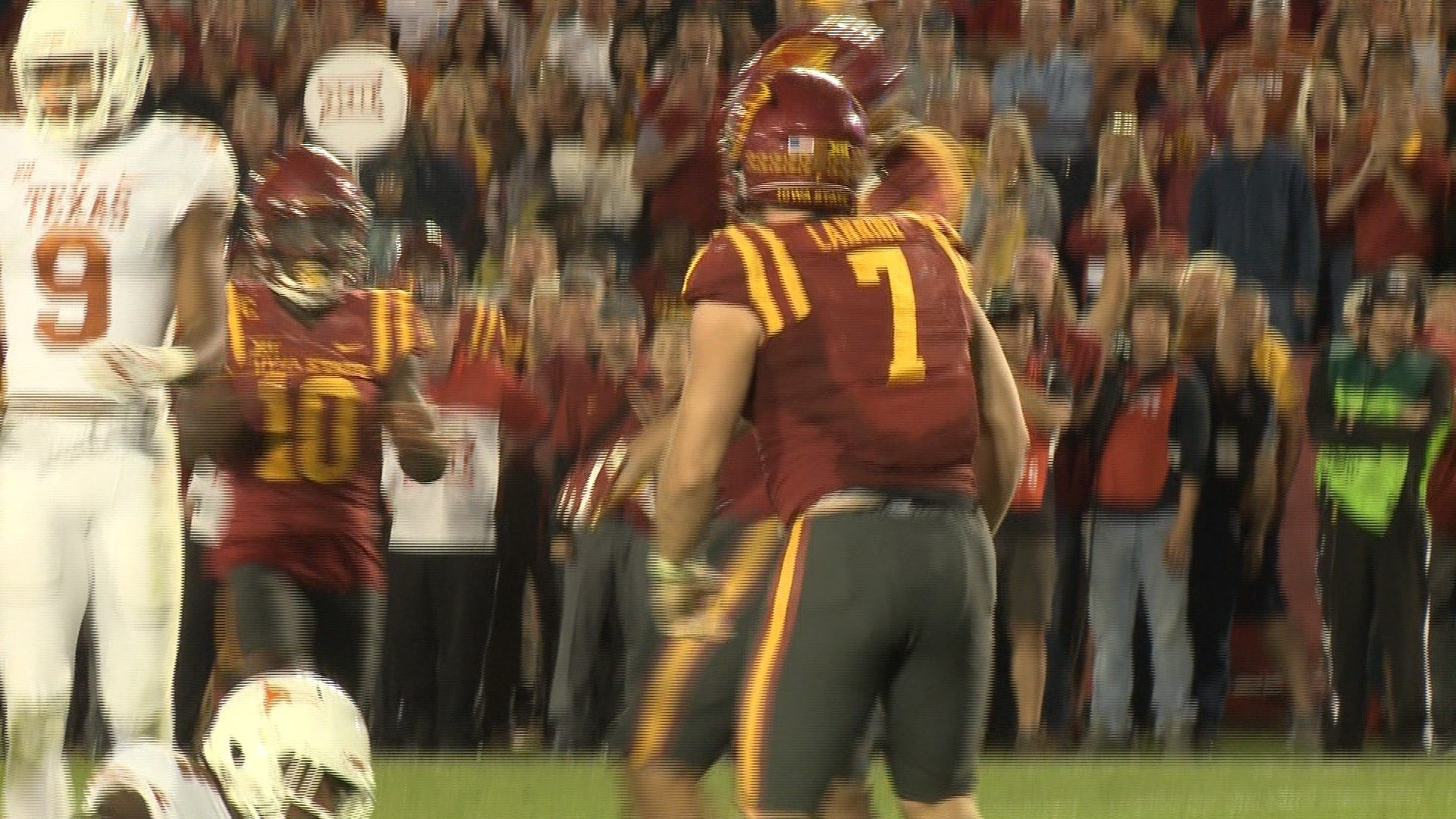 Joel Lanning will play his final game for Iowa State on Saturday.