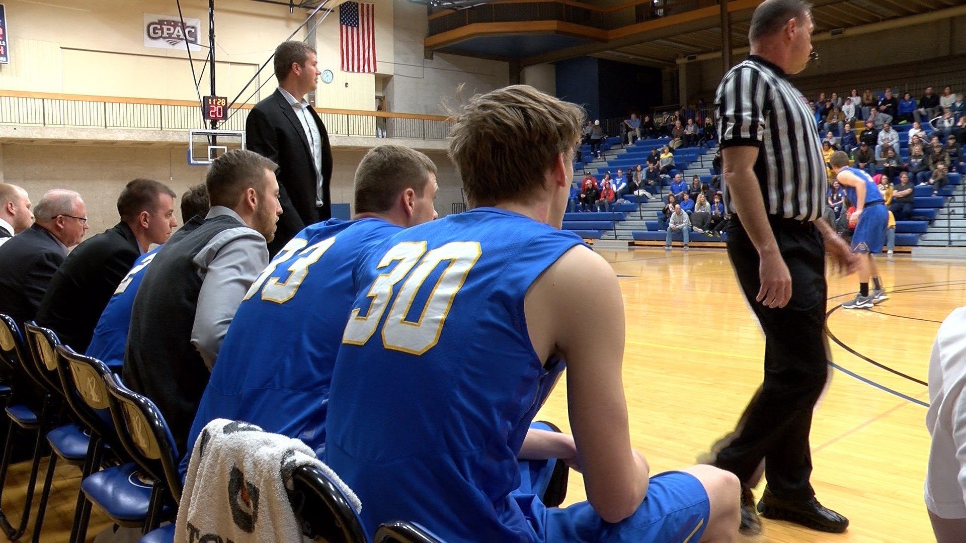 Briar Cliff beat York on Saturday, 110-87.
