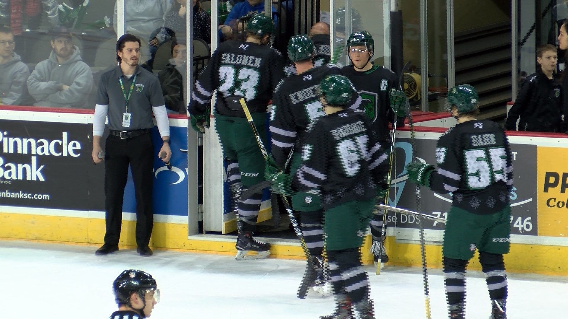 The Musketeers beat Omaha in overtime on Sunday, 2-1.