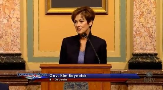 Reynolds is first female governor to deliver Condition of the State