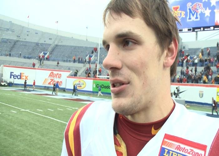 The Iowa State Athletics Department announced Friday that quarterback Kyle Kempt has been granted a sixth season of eligibility by the NCAA.