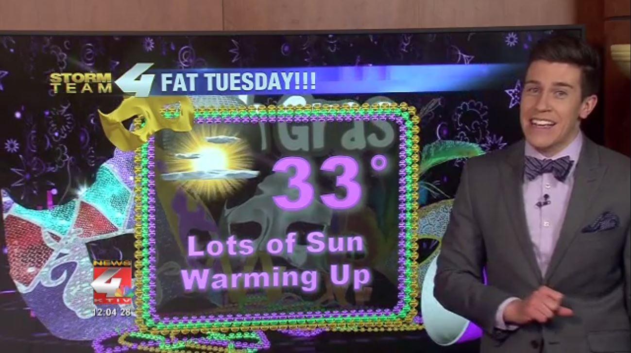 Mardis Gras Forecast