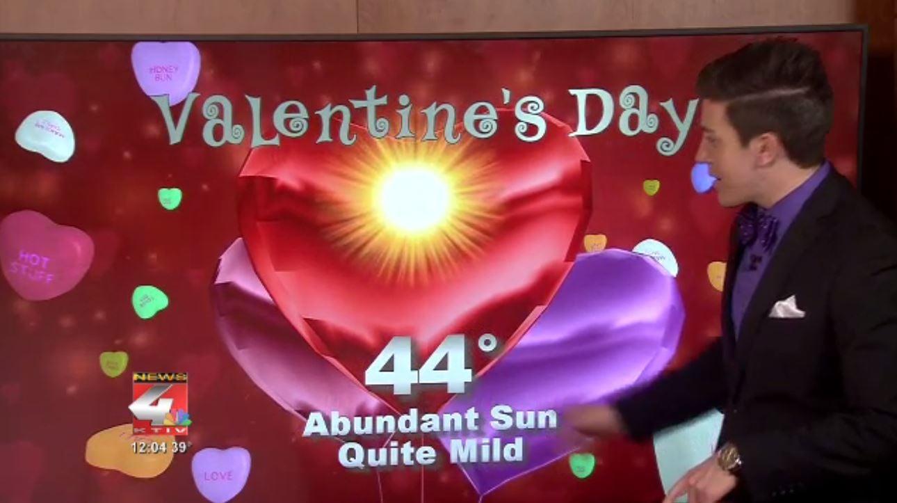 Valentine's Day Forecast