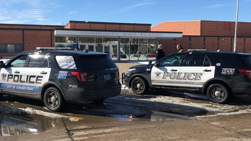 Lockdown lifted at Taranaki high school