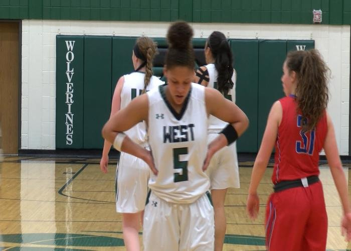 The #15 Sioux City West girls beat CBAL, 64-55, on Wednesday night.