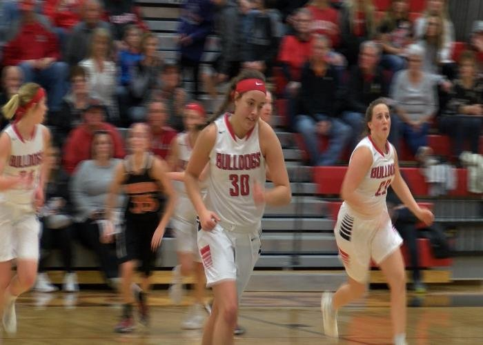 Madison Dreckman had 29 points in LeMars' win over Sgt. Bluff-Luton on Saturday.