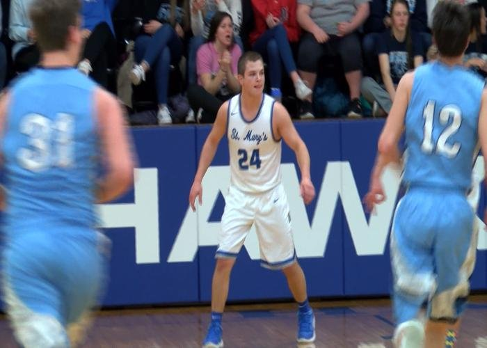 Remsen St. Mary's took a 22-0 record in the district semifinals.