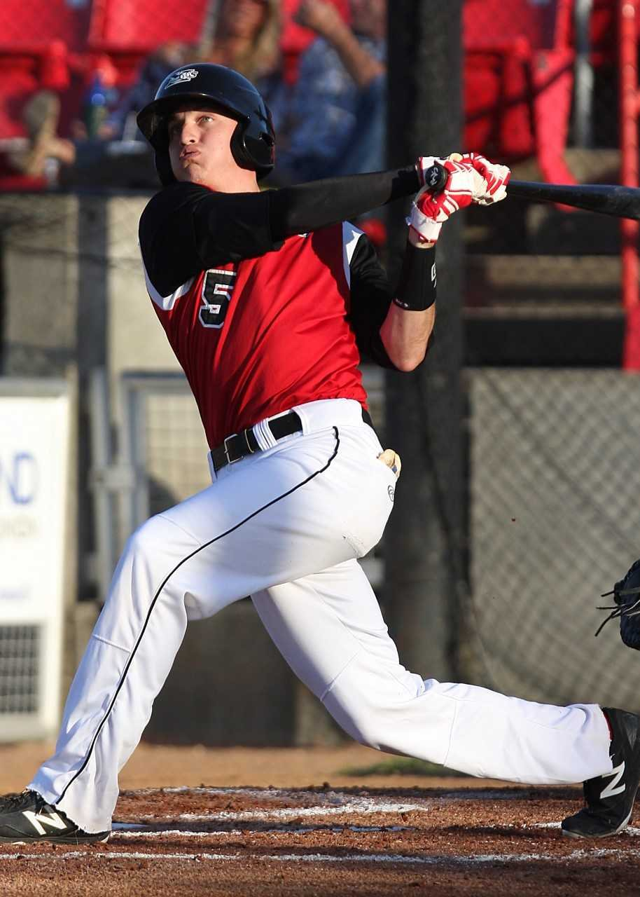 Nate Samson has a career batting average of .332 in four seasons in Sioux City.