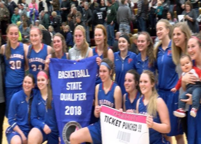 West Sioux qualified for the Class 2A state tournament with a win over IKM-Manning.