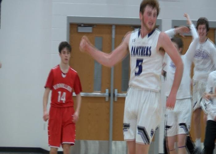 Jack Graves had the game-winning shot in Dakota Valley's 61-60 win over Vermillion.
