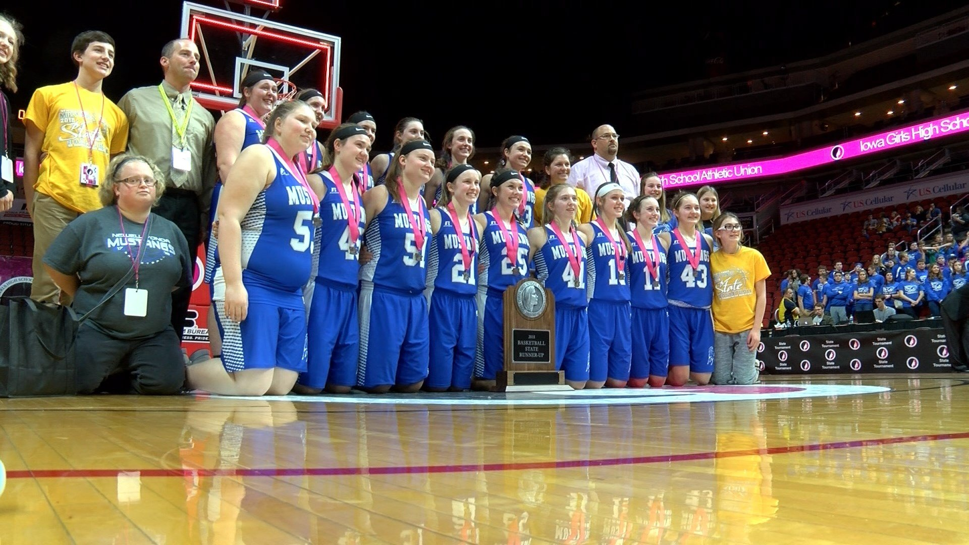 Newell-Fonda lost to Springville in the Class 1A title game, 60-49.