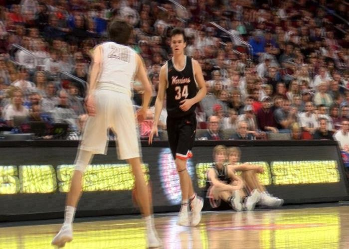 Sam DeMoss led Sgt. Bluff-Luton with 11 points in the Warriors' loss to Oskaloosa.