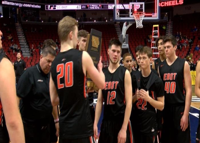 Sioux City East lost to Cedar Falls, 75-47, at the state tournament on Wednesday.