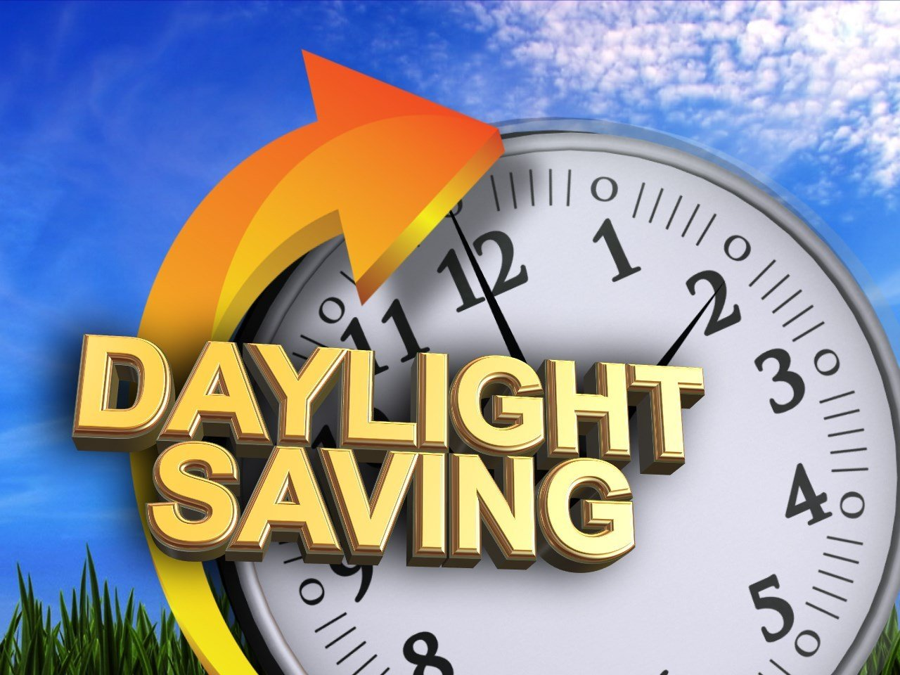 Spring forward into Daylight Savings Time Sunday