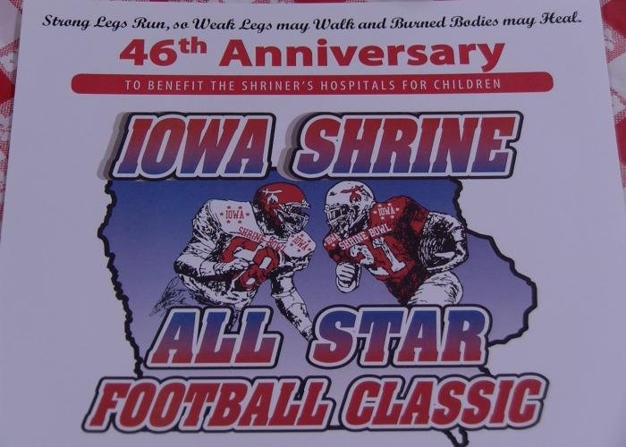 Nine Siouxland seniors will play in the Iowa Shrine Football Classic this summer.