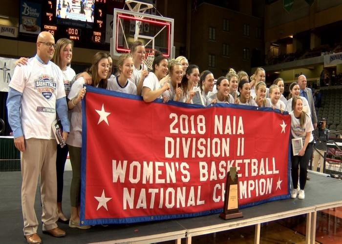 Dakota Wesleyan beat Concordia for the NAIA II title in Sioux City on Tuesday.