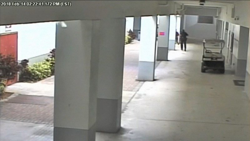 New video shows deputy standing outside during school shooting