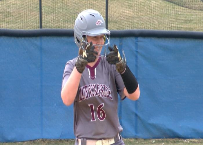 Lexie Stolen had 3 RBI in Morningside's 8-1 win over Briar Cliff.