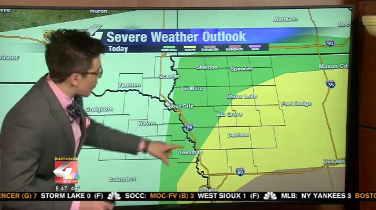 Severe Weather Risk Friday