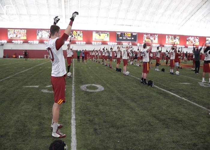 Iowa State will hold their final spring scrimmage on Saturday.