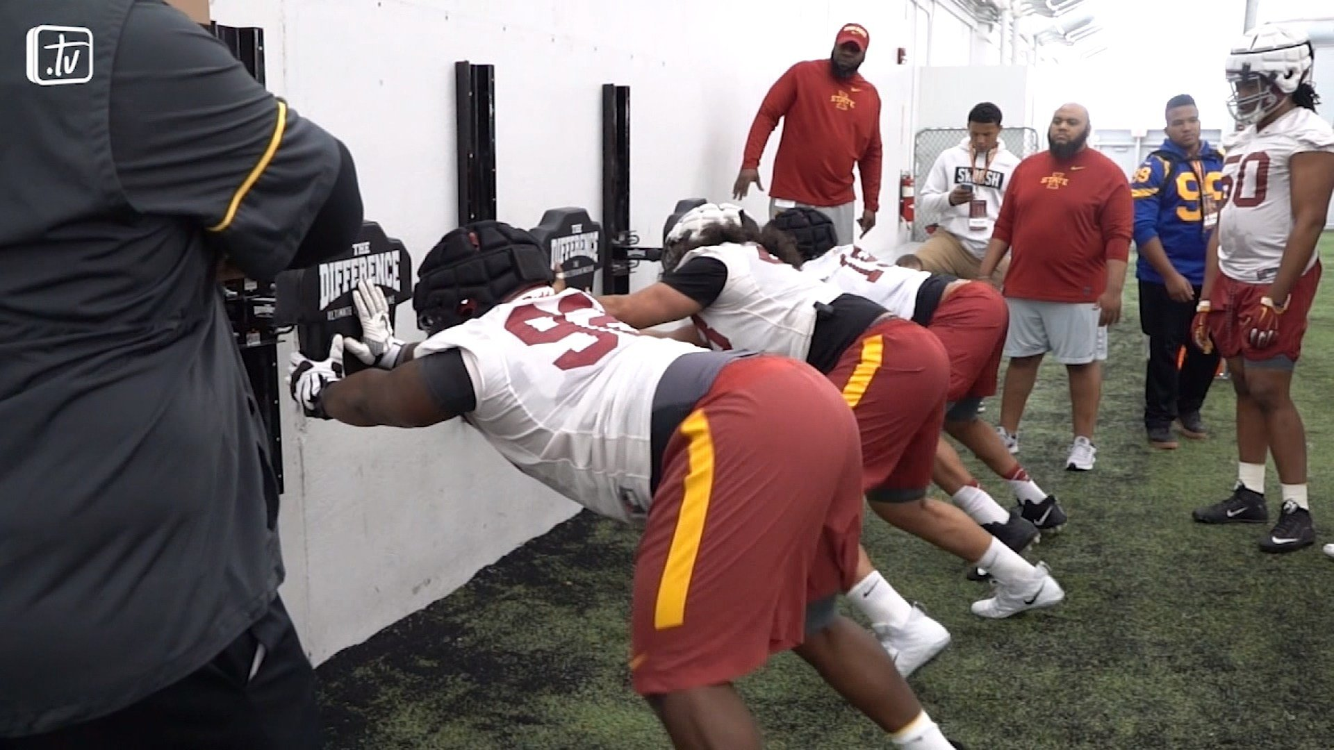 Iowa State finished spring practice on Saturday.