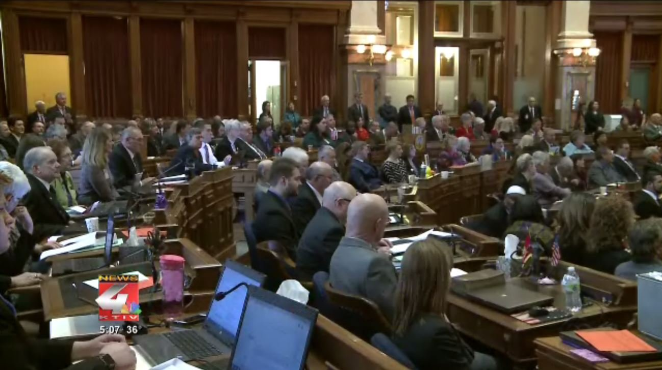 "A bill approved by the Iowa Legislature last week targets so-called ""lunch shaming"""