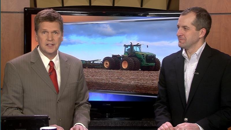 Iowa Secretary of Agriculture Mike Naig was live in studio on News 4 Today Tuesday morning