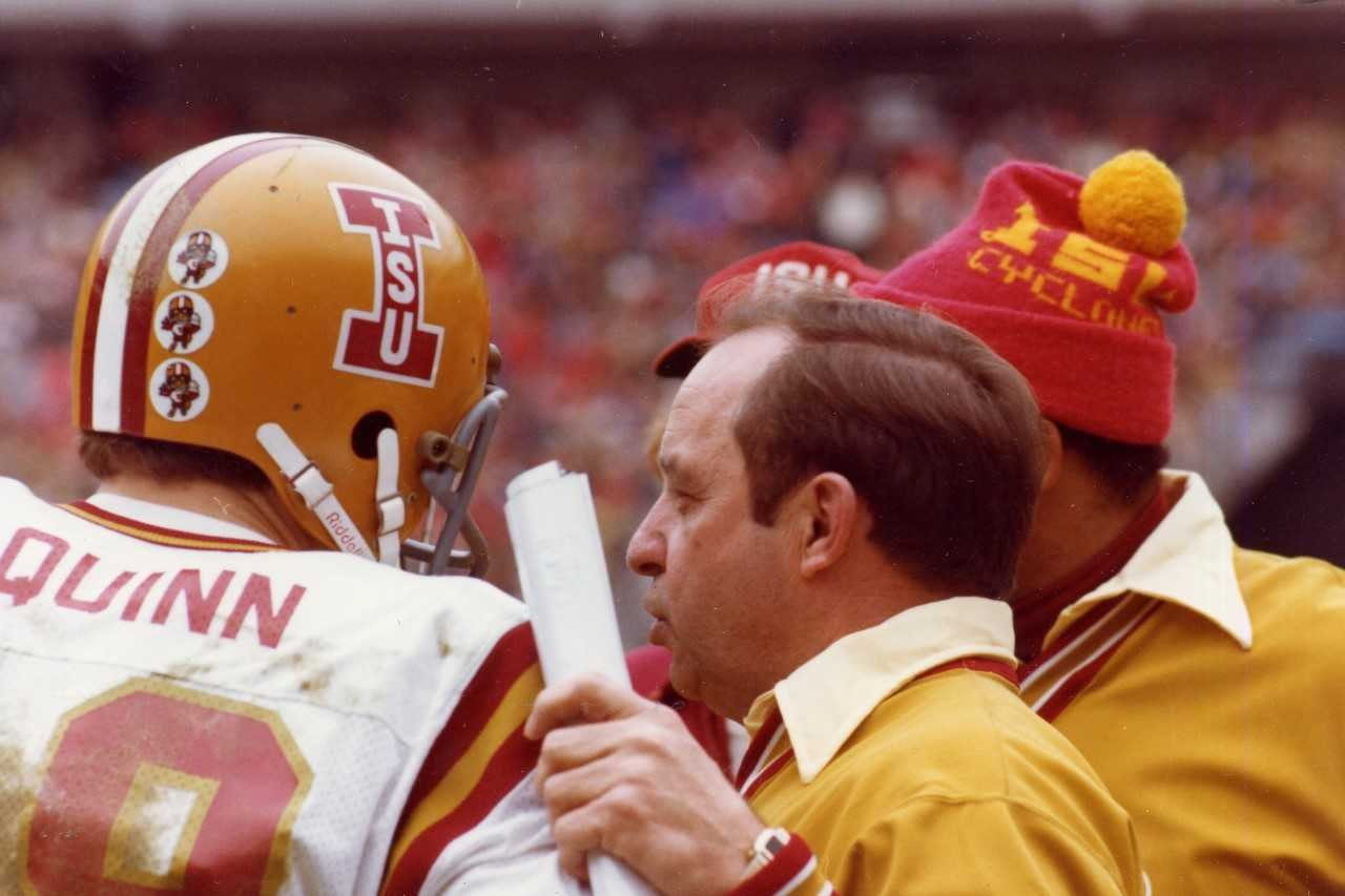 Earle Bruce coached at Iowa State from 1973-1978.