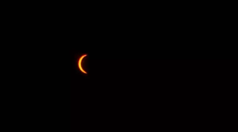 Photo Courtesy: Scott Locati - Solar eclipse in Sioux City