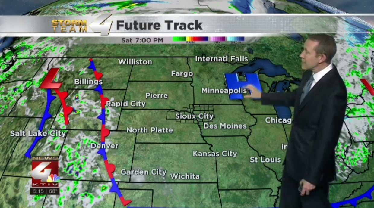 Temperatures cool with an early chance of rain and snow Thursday
