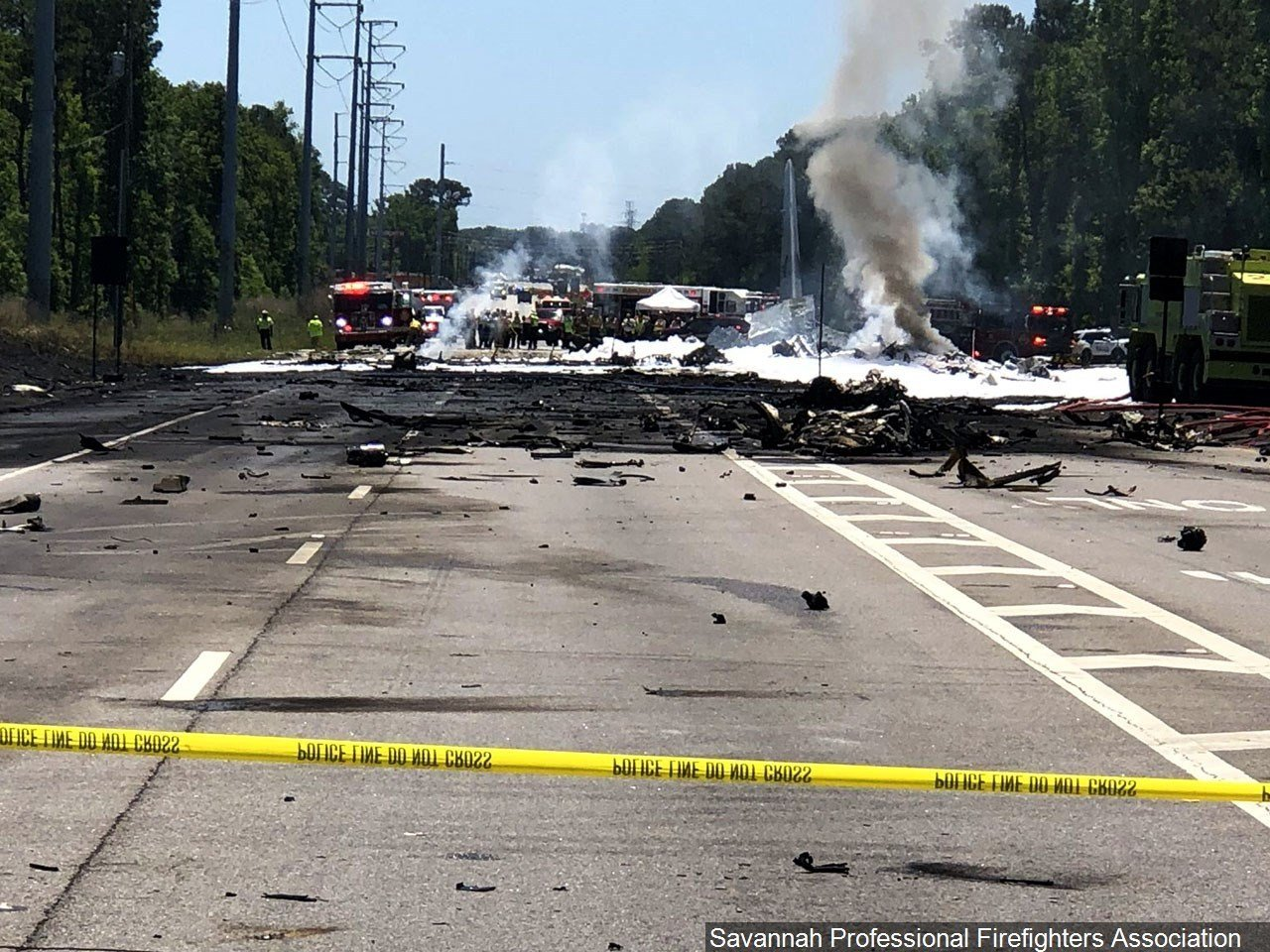 Five killed in crash of USA military cargo plane