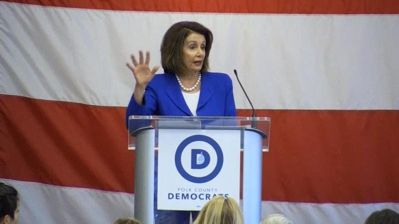 Pelosi Sees Risks for Democrats Seeking Trump's Impeachment