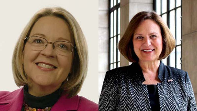 Jane Raybould faces Sen. Deb Fischer in the general election.