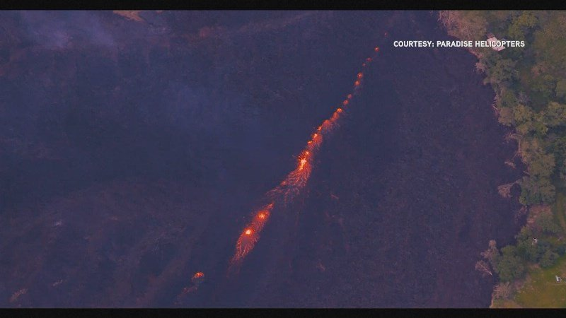 Hawaii volcano spews 9 km-high plume of ash