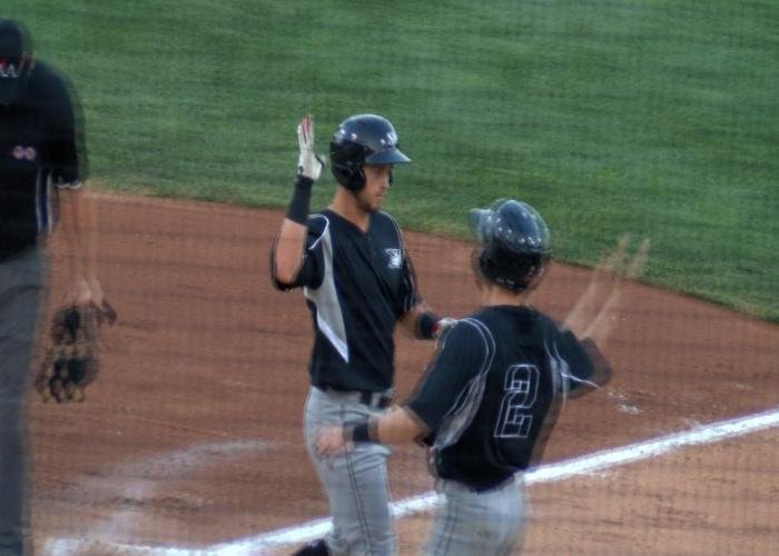 Jay Baum hit a two-run homer in the X's 7-4 win in Lincoln on Thursday.