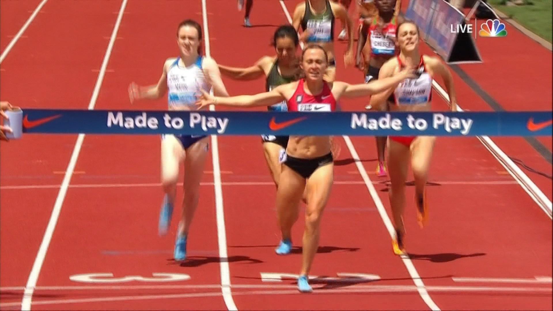 East graduate Houlihan takes world lead in 1500 meter run