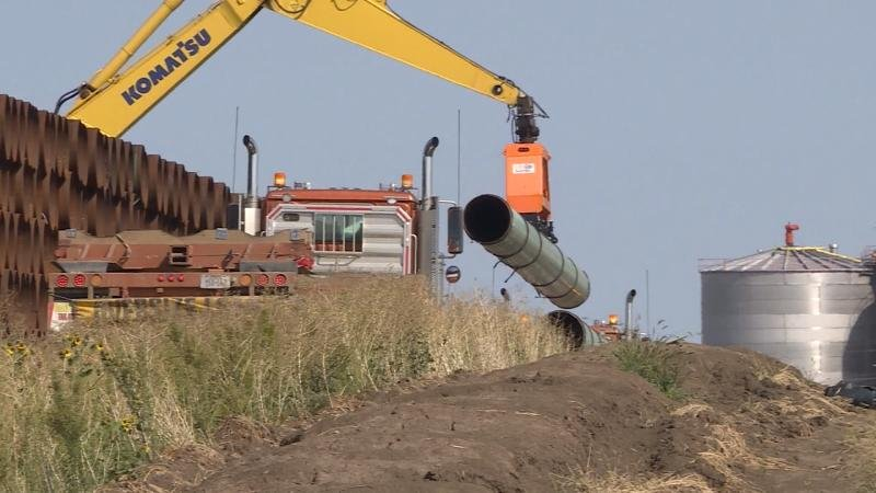 The U.S. Army Corps of Engineers expects to wrap up an environmental study of the $3.8 billion Dakota Access oil pipeline within the next two months