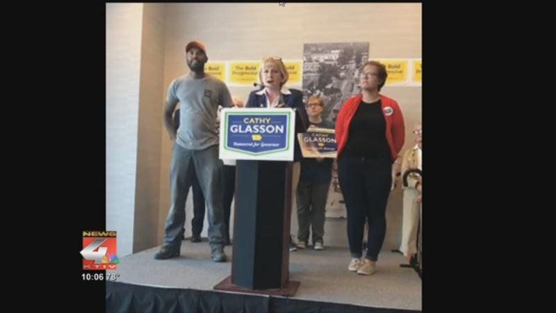 Democrat Cathy Glasson, who lost her bid for Iowa governor in last week's primary election, has made an unusual request to Iowa Democrats that she be allowed to address the party at its upcoming state convention