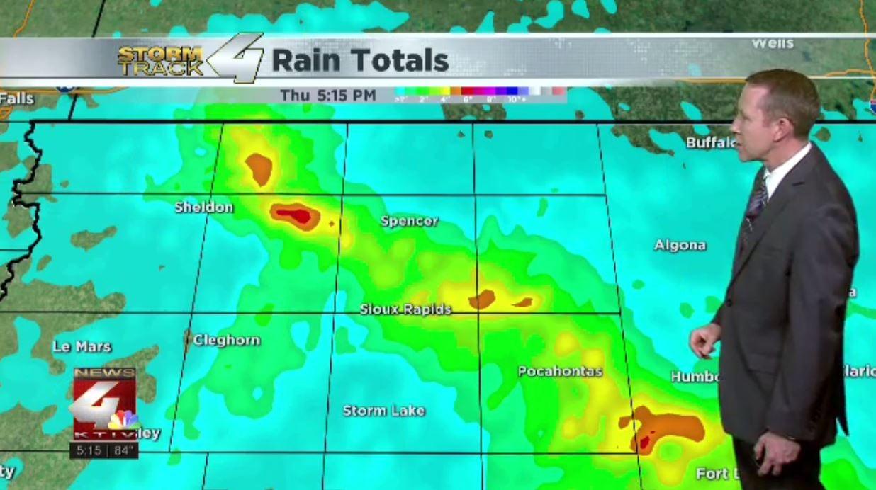 Siouxland Rainfall