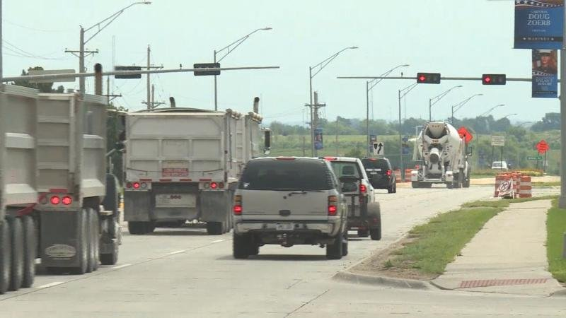 A record $600 million in road and bridge projects are slated for construction in Nebraska next year