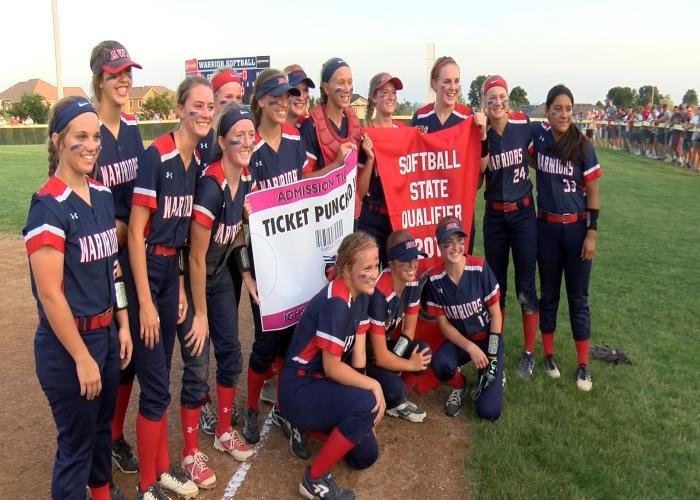 Alta-Aurelia is going to the state softball tournament for the first time.