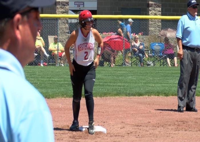 Danika Smith drove in four runs for Akron-Westfield on Monday.