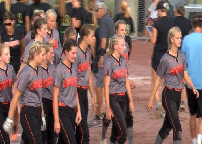 Sgt. Bluff-Luton fell to Des Moines Hoover, 12-1 in the state softball semifinals on Wednesday.