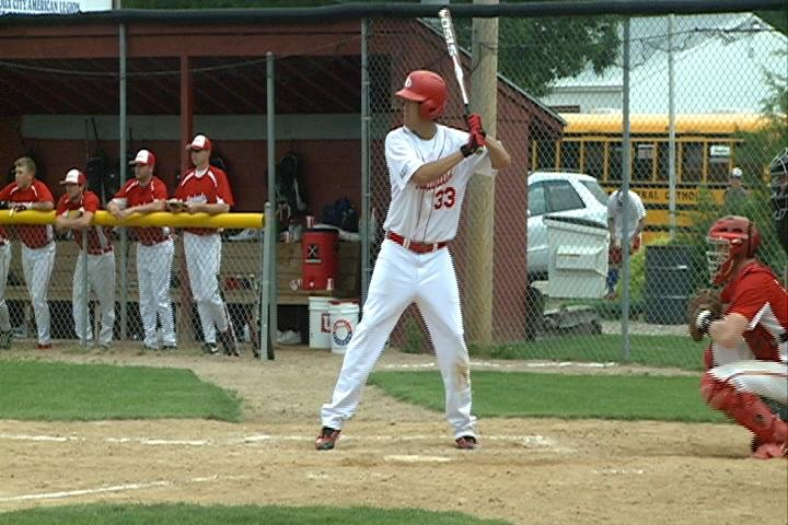 Alex Mogensen and the South Sioux City Cardinals are a win away from advancing to the state tournament.