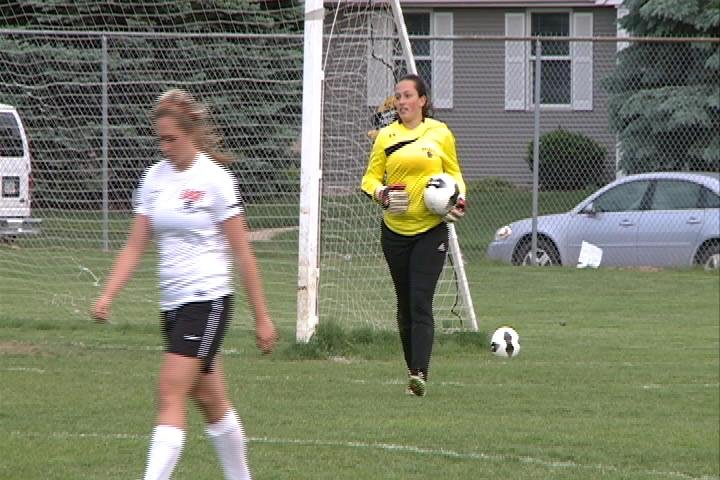 Fifth-ranked Sioux City East improved to 12-1 with a 1-0 win over North on Friday.