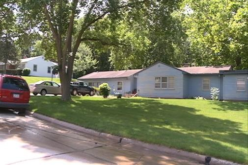 Officials say the invasion happened at this home at 504 39th Street Place in Sioux City Wednesday morning.