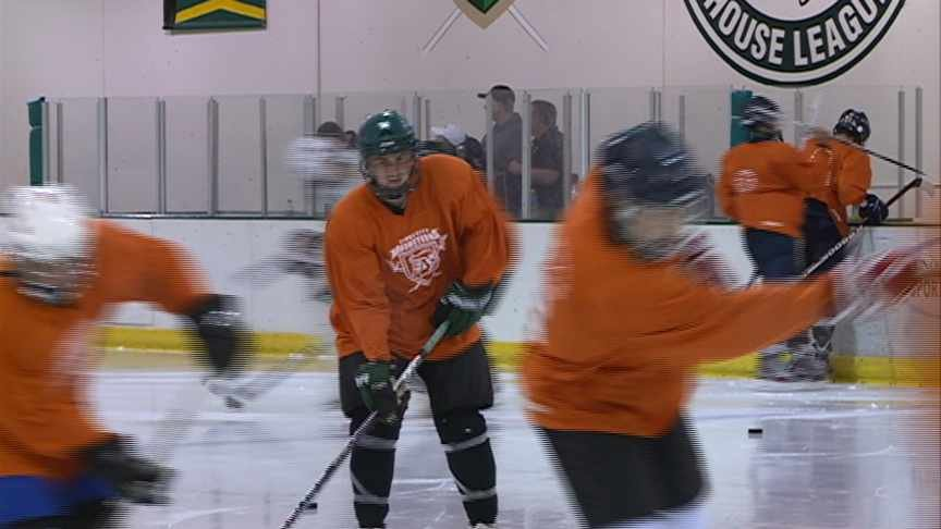 The Sioux City Musketeers have opened their four-day tryout camp at the IBP Ice Center.