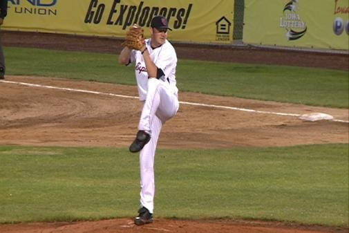 Jason Jarvis was the winning pitcher in Sioux City's 3-2 win over Winnipeg on Thursday night.