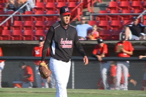 Richard Salazar threw seven innings in Sioux City's 5-2 loss to Wichita on Saturday night.